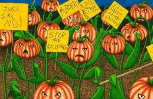 Pumpkin Patch Protest