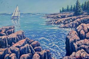 Sailing at Acadia