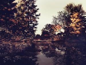 Autumnnal lake