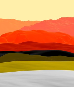 Mountains in Gradient