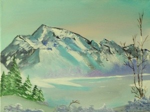 Crystal Morning Painting # 250