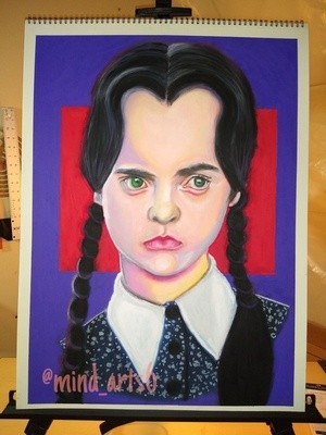 Wednesday from The Addams Family