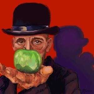 Rick a la Magritte