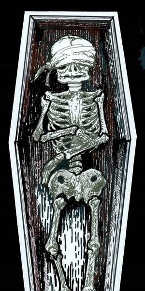 Bone Box - Final Cover Drawing