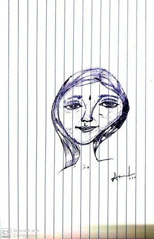 Pen art....ammulu..000