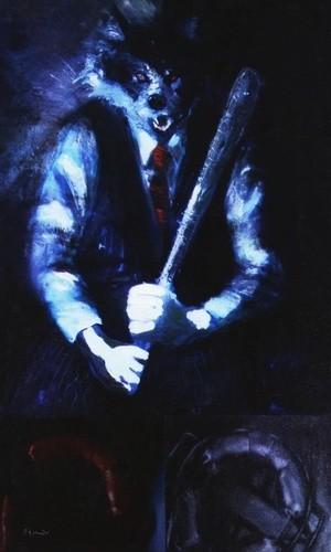 R Freeland Nightmare Wolf