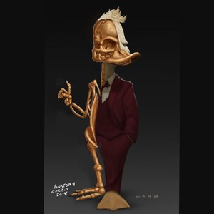 howard duck anatomy