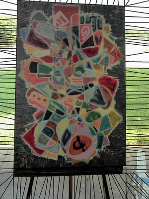 Acrylic,Acrylic / oil / or mixed media on canvas