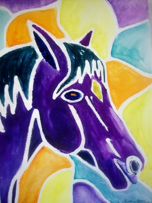 Horse of a Different Color- SOLD