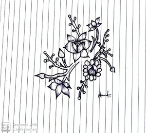 Flower drawing..ammulu
