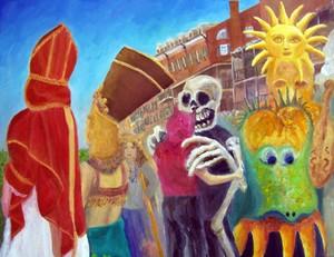 Mardi Gras Paintings