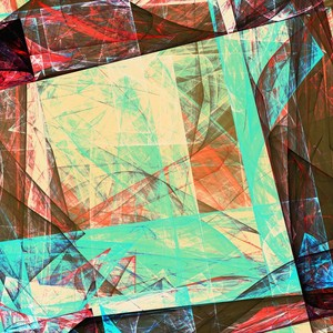 Abstract Composition 455