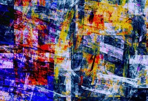 Abstract Composition 483