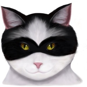 They call me the Masked Cat