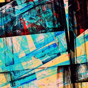 Abstract Composition 485