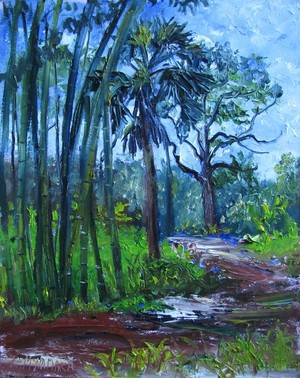 1631 Bamboo at the Richard E. Becker Preserve Plein Air