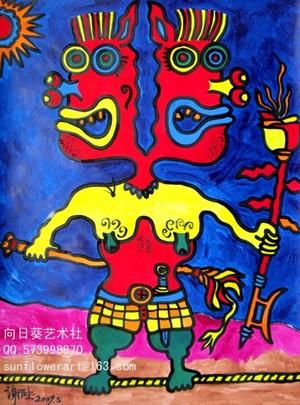 Human's portrait 4