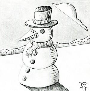 Frosty The Snowbird