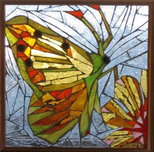 Butterfly Glass Mosaic