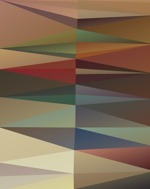 Abstract Composition 680