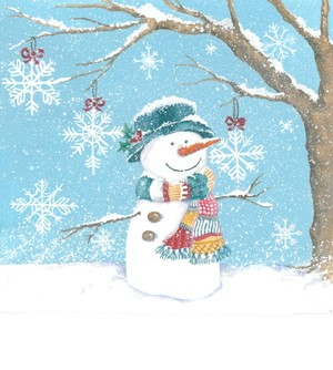 Zoe Connery snowman