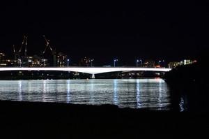 Captain Cook Bridge at night