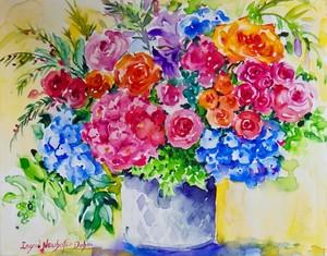 Floral Menage