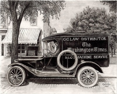 1920's Delivery Wagon