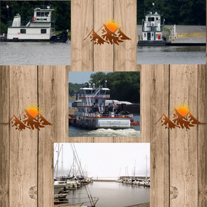 Life on the Water Collage