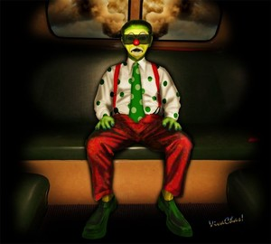 Back of the Bus Clown Cross Town the Circus