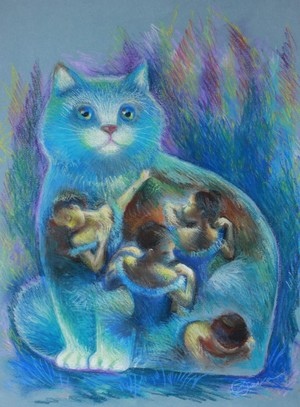 Degas cat