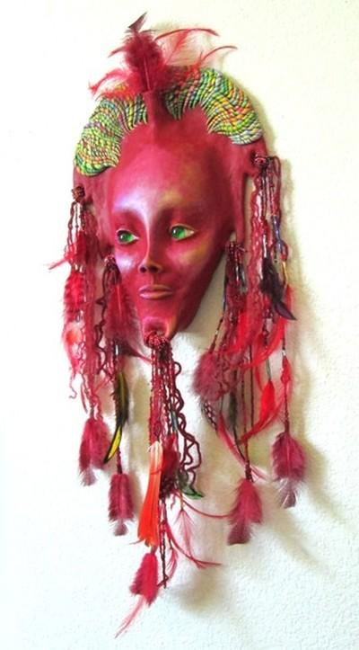 Red Star Queen Sculpture