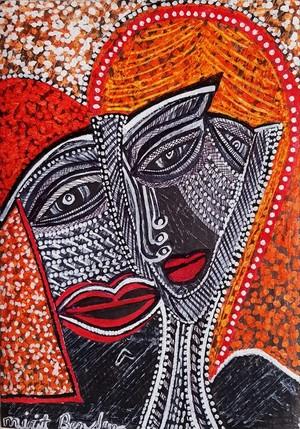 art in israel modern contemporary paintings mirit ben nun