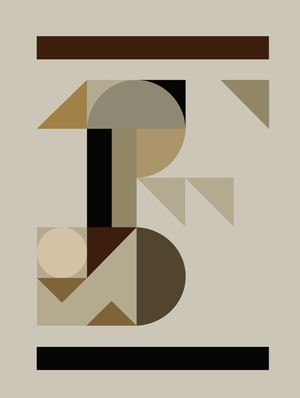 Abstract Composition 708