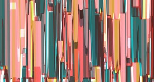 Abstract Composition 702