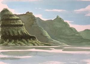 Andefiord Faroe Island