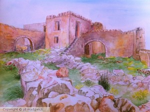 Old Ruins, Aradena, Crete, Greece