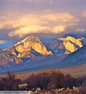 Sun on Taos