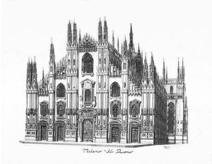 DUOMO OF MILAN (ITALY)