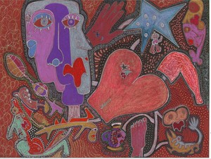 Homage to Picasso, Miro, Klee and other friends