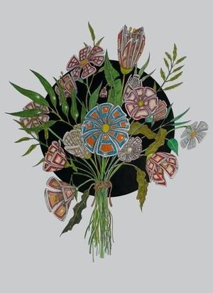 Bouquet of door flowers