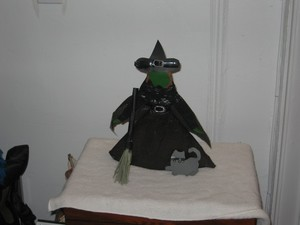 The Witch Paper Doll