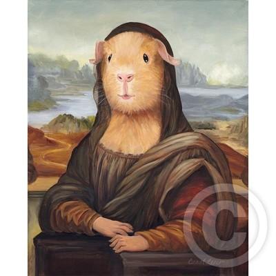 Mona Lisa Guinea Pig