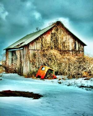 Old Barn in Oberlin