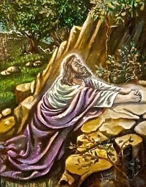 Christ Praying at Gethsemane