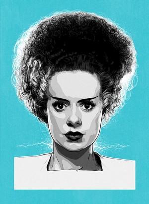 Classic Movie Monsters - Frankenstein's Bride