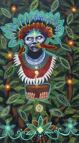 Chamán de Ayahuasca