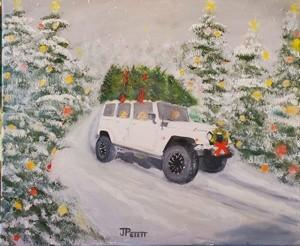 Lexee's Christmas Jeep
