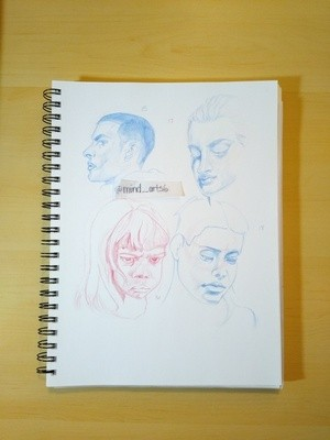 Page 4 Head Sketches