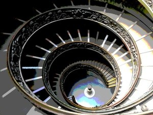 VATICAN STAIRS 3